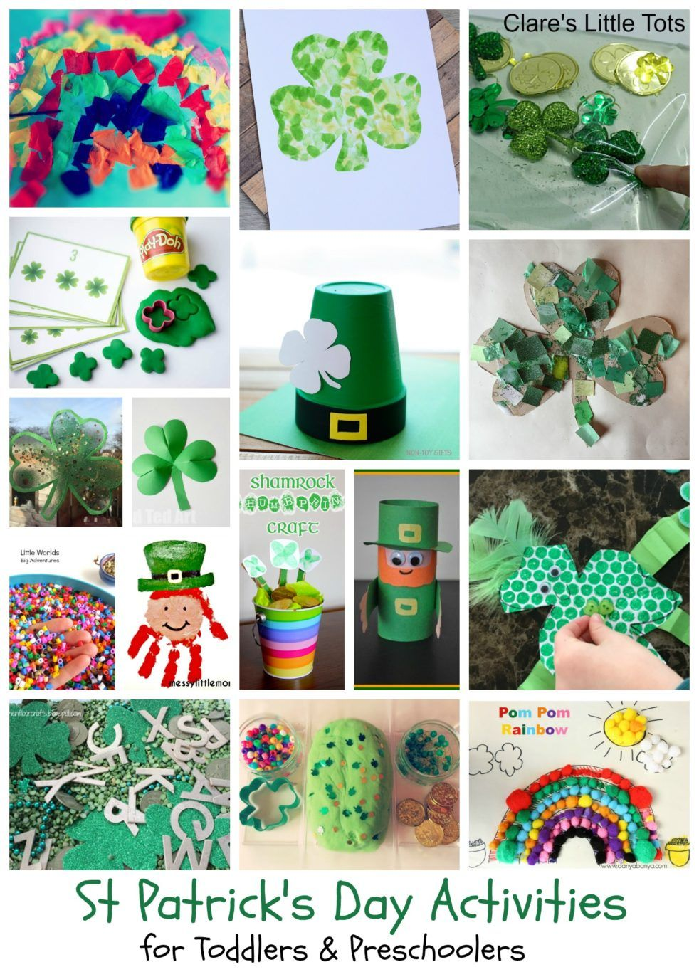 St Patrick\'s Day Activities for Kids | Stem activities, Sensory play ...