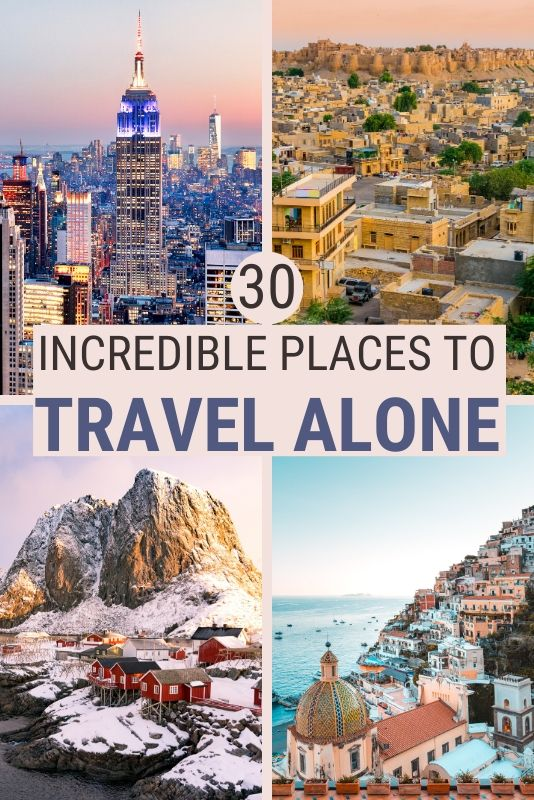 Solo travel can be a challenge but also a lot of fun. Read this post to discover the best places to travel alone where you are bound to have an incredible time | Travel solo | #traveltips #travel    via @clautavani