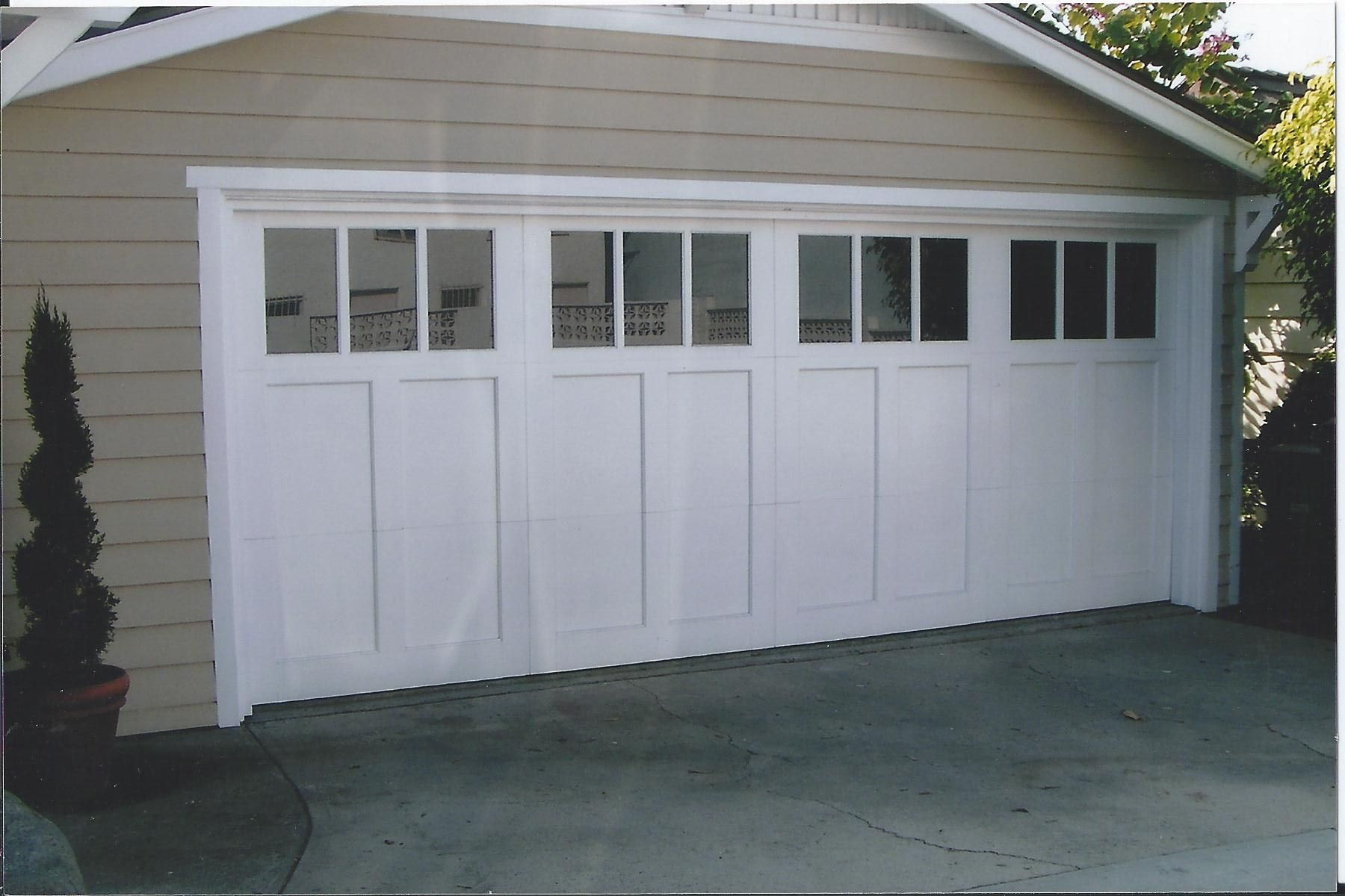 white by different of overhead style styles long craftsman in likable with inspiration best glas house doors panel full chi model size garage carriage