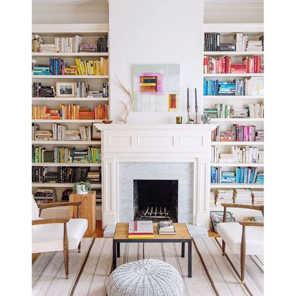 Combine horizontal and vertical stacks. - Get savvy with placement bymixing up the direction of your stacks. This adds dimension to your abodeand eliminates the need for bookends.