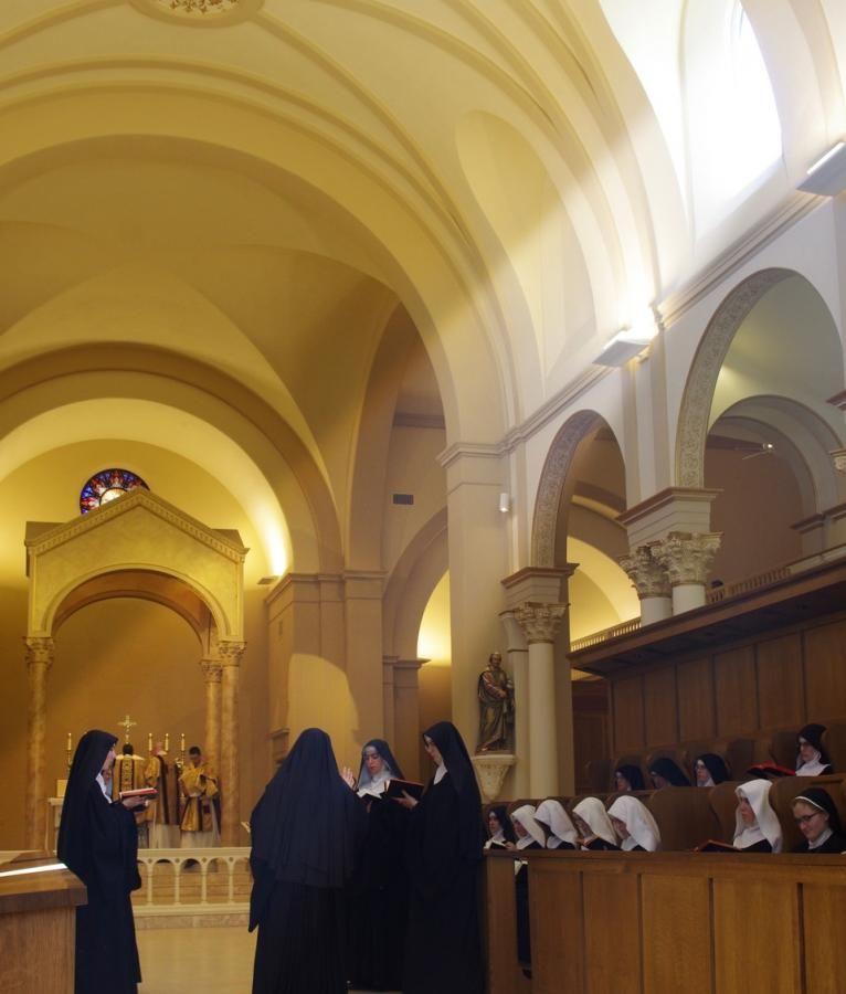 Solemn Mass For St Benedict S Feastday Benedictines Of Mary Queen Of Apostles New Church Solemn Monastic Life