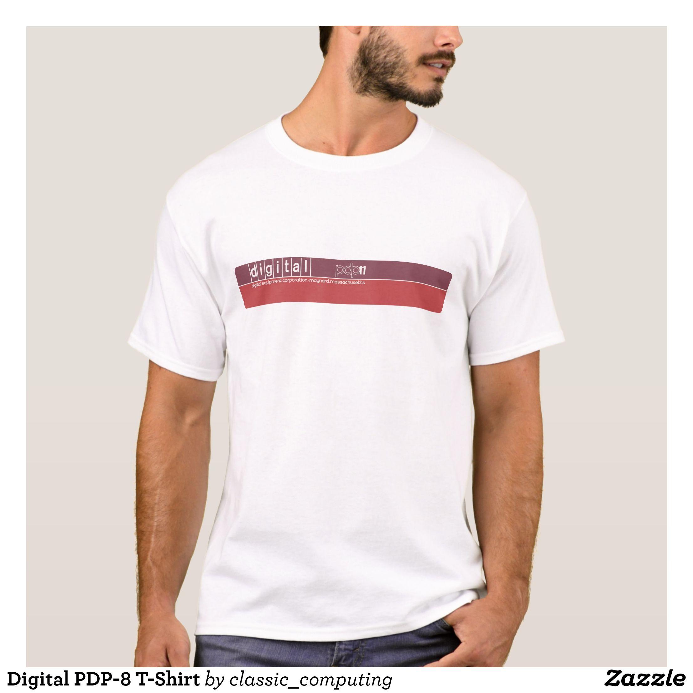 6f06b318 Digital PDP-8 T-Shirt - Heavyweight Pre-Shrunk Shirts By Talented Fashion &  Graphic Designers - #sweatshirts #shirts #mensfashion #apparel #shopping ...