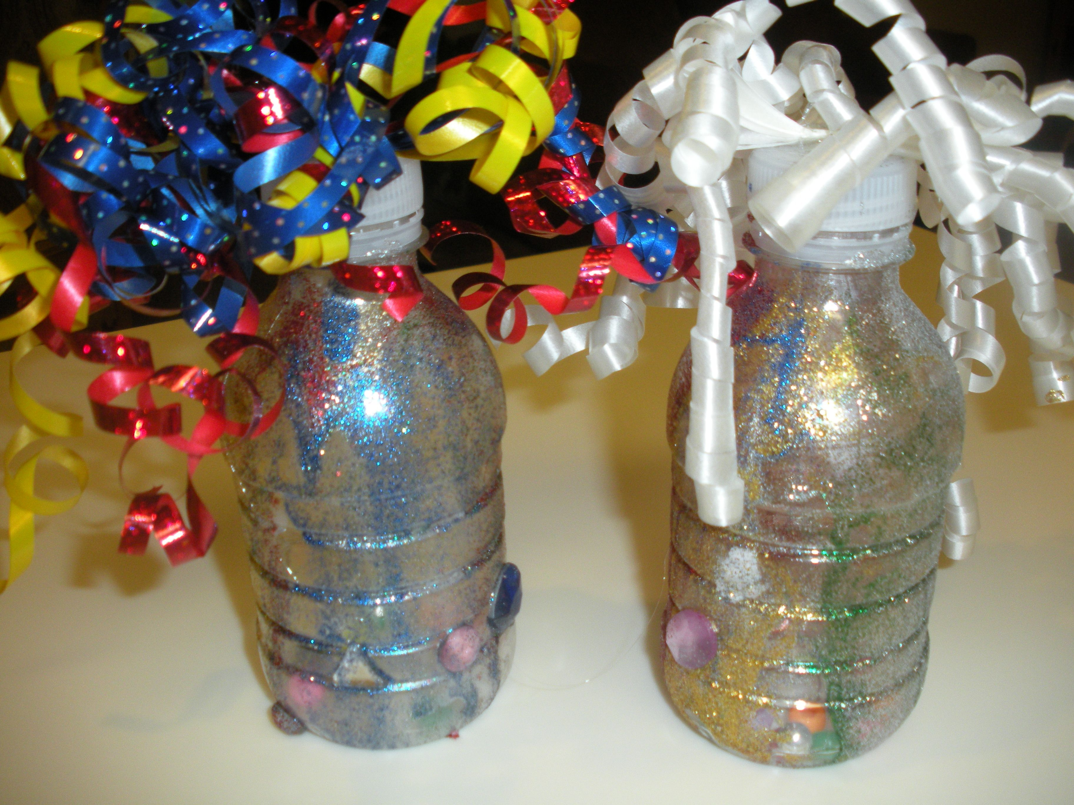 New Years Eve Craft Ideas For Kids Part - 38: Water Bottle Noise Maker New Years Eve Craft For Kids. Fun And Easy  Recycled Craft With Instructions And Tutorial By WunderMom On Adventures In  Wunderland.