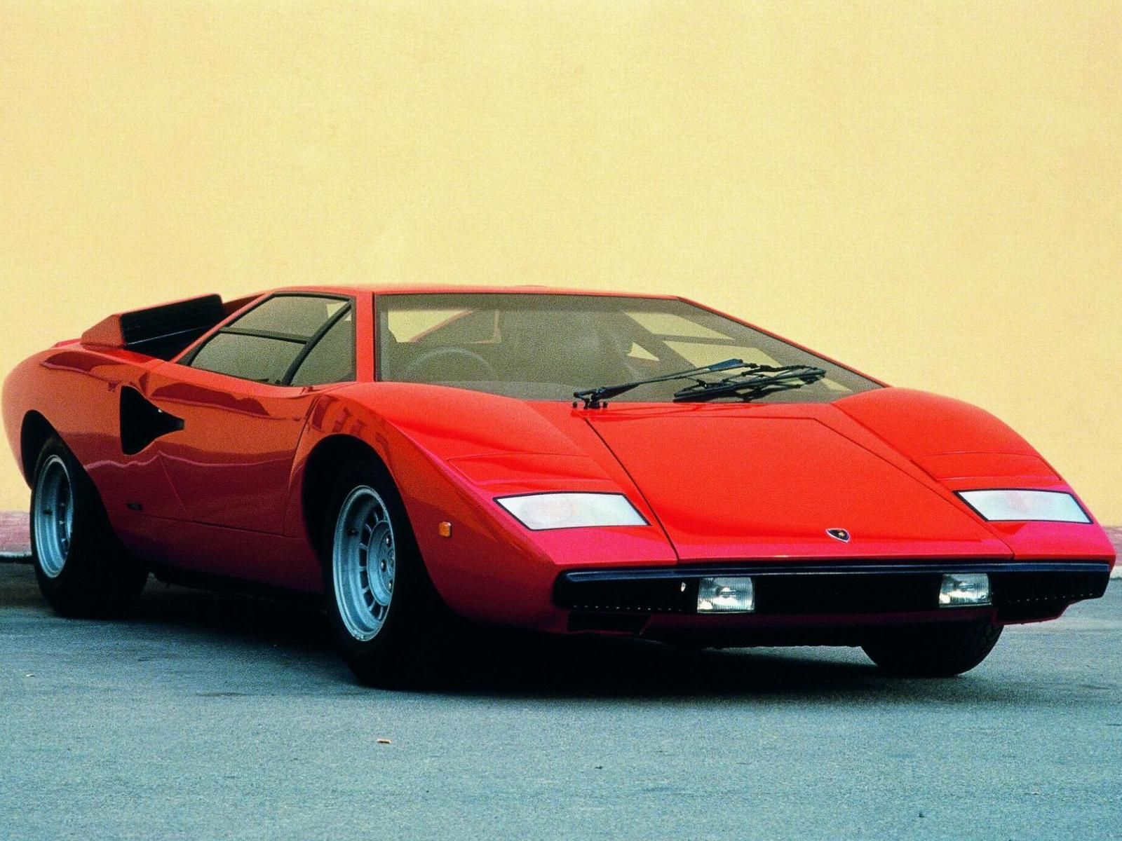 One of my all-time favorites: the Lamborghini Countach