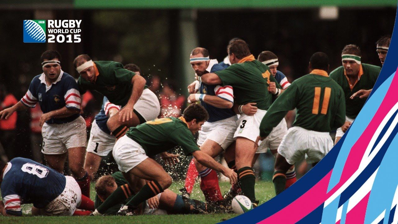 Lomu Shines In Rwc 1995 Semi Finals Semi Final Rugby World Cup World Rugby