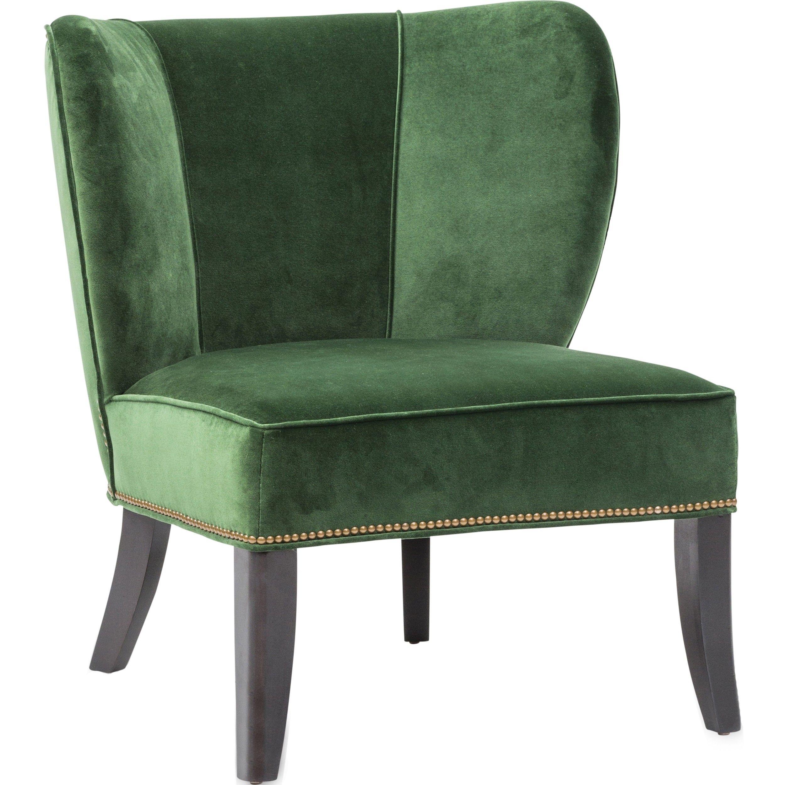 Annie Chair Vance Emerald  Furniture  Chairs  Fabric