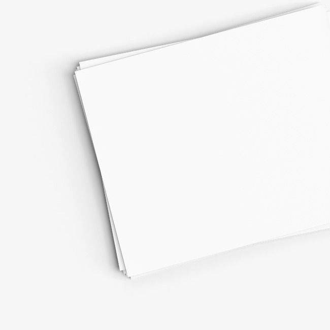 صفحة بيضاء هد ناقلات ورقة Png وملف Psd للتحميل مجانا