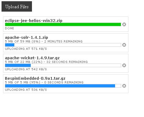 jquery-pure-uploader - jQuery Pure Uploader provides HTML5