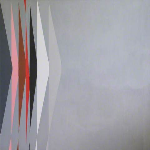Wilhelmina Barns-Graham, Expanding Forms Touch Point Series No. 1 (Entrance), 1980