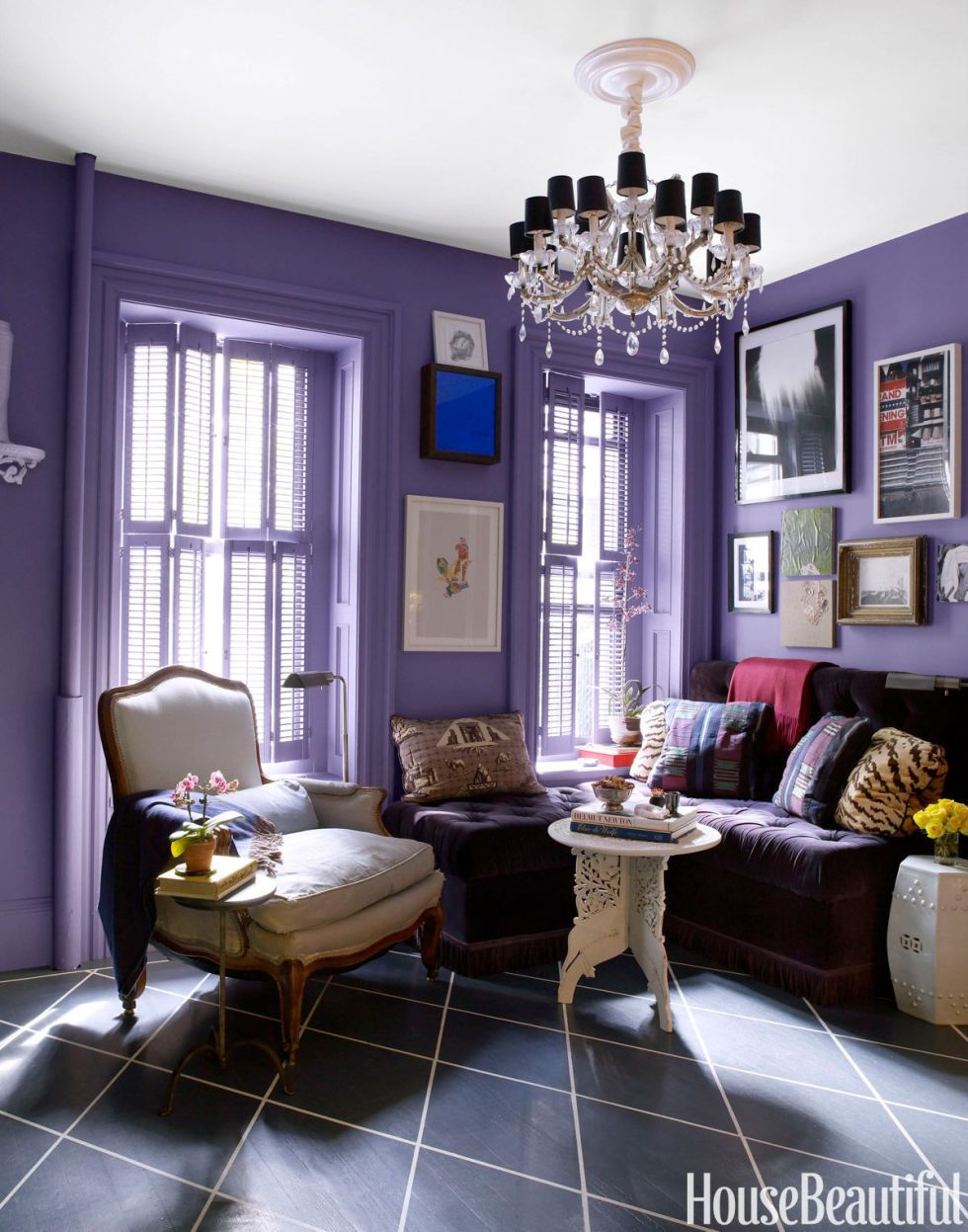 house beautiful living room colors. 11 Times Painted Floors Were Totally Worth the Risk  White