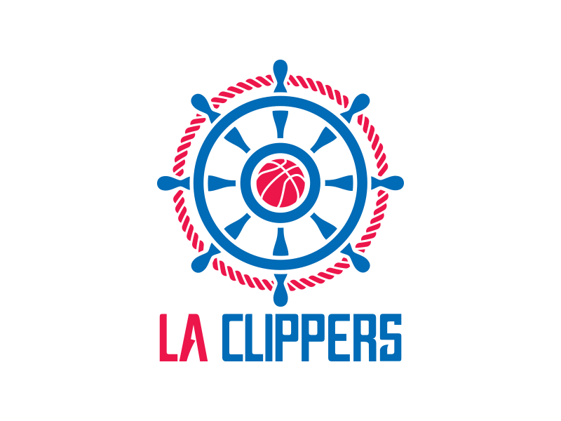 Los Angeles Clippers Logo Rebrand Logos Los Angeles Clippers Nba Logo