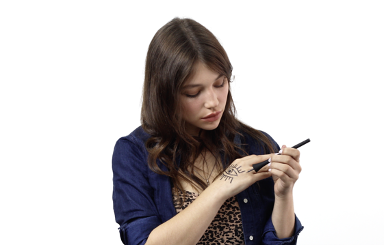 Visual Fragrance™ Freehand Wand Diy temporary tattoos