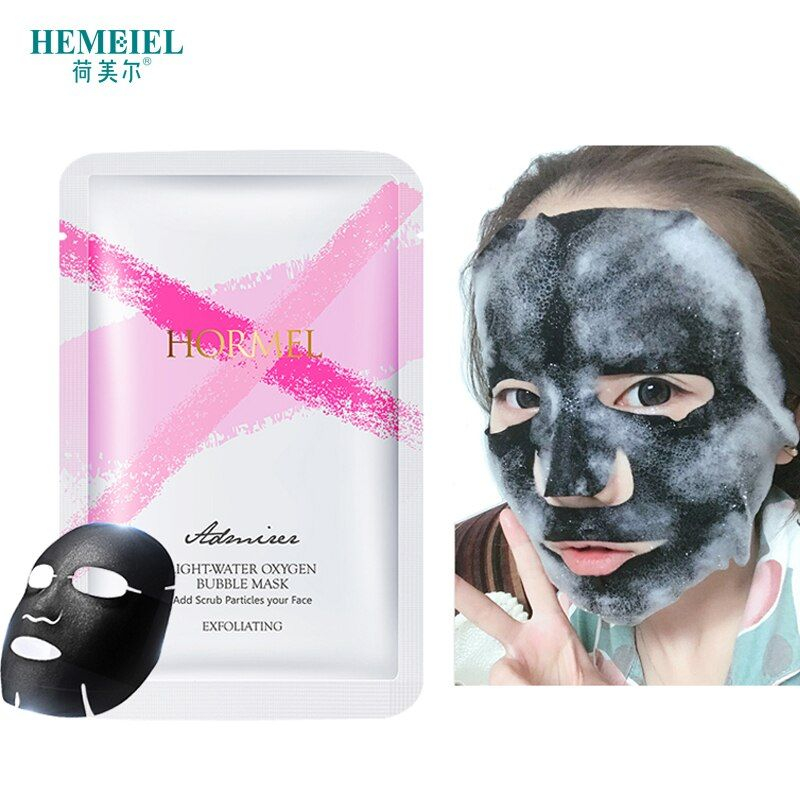 Photo of HEMEIEL Detox Oxygen Blister Sheet Mask Korean Cosme …