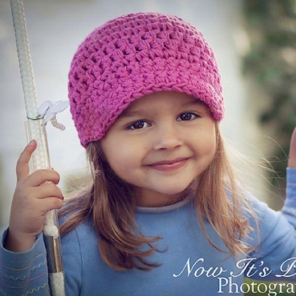 free newsboy hat pattern | children | Pinterest | Häkeln