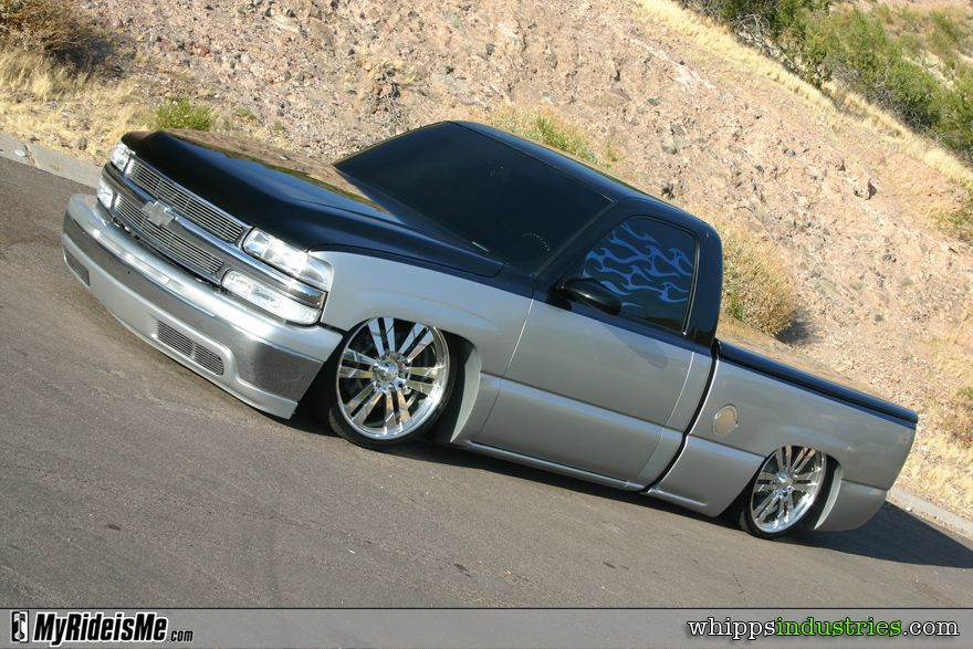 John Trevino S Bagged 2002 Chevrolet Silverado Myrideisme Com Chevrolet Silverado Chevrolet Silverado