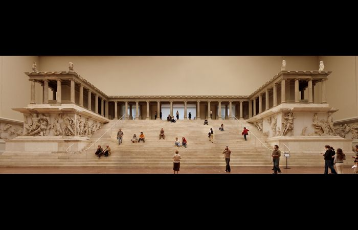 Pergamum Seat Of Satan Was A Temple To Zeus Now In Berlin Originally From Turkey Obama Right After Becoming Pergamon Pergamon Museum Pergamon Museum Berlin