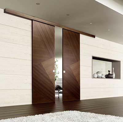 Puertas de interiores de madera dm correderas lacadas for Ver puertas de interior y precios