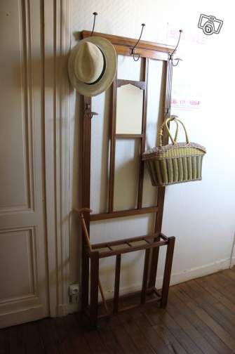 Porte Manteaux Ancien Avec Miroir Ameublement Gironde  LeboncoinFr
