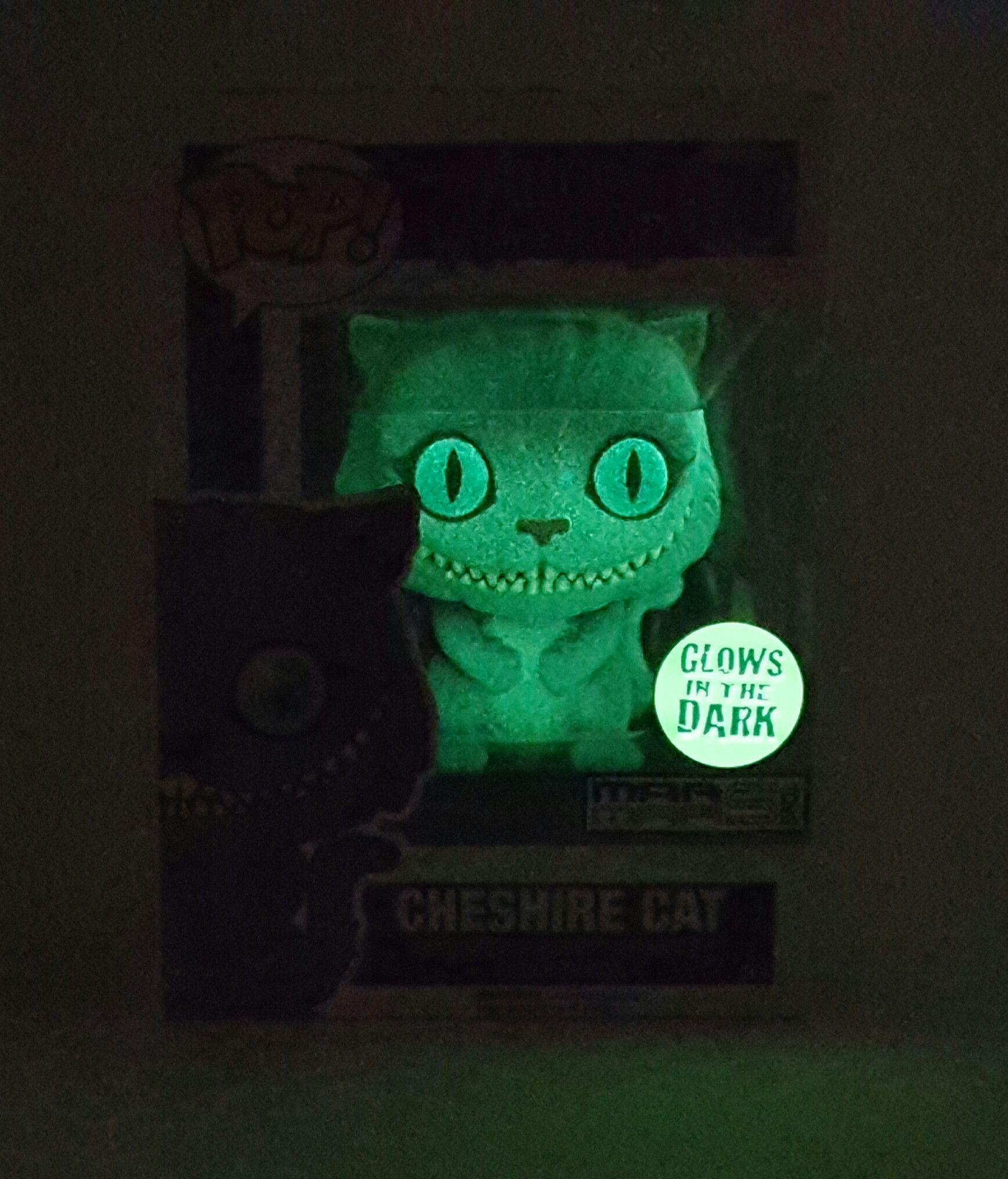 322efbab6aa CHESHIRE CAT DISNEY ALICE IN WONDERLAND FUNKO POP 178 GLOW IN THE DARK