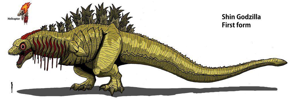 Shin Godzilla: First form by Hellraptor on DeviantArt | A Regular ...