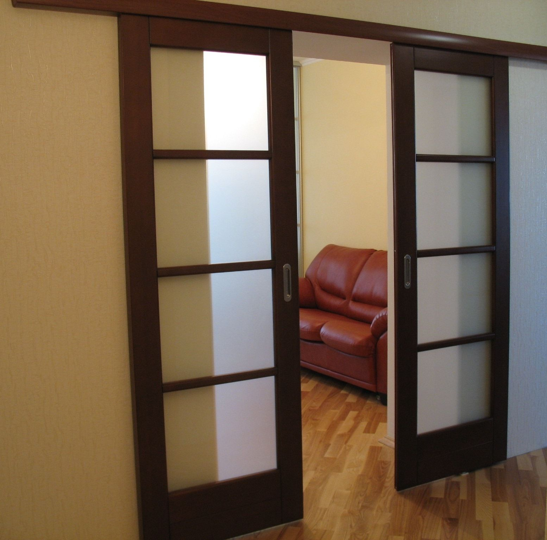 Раздвижные двери в стену своими руками фото 131