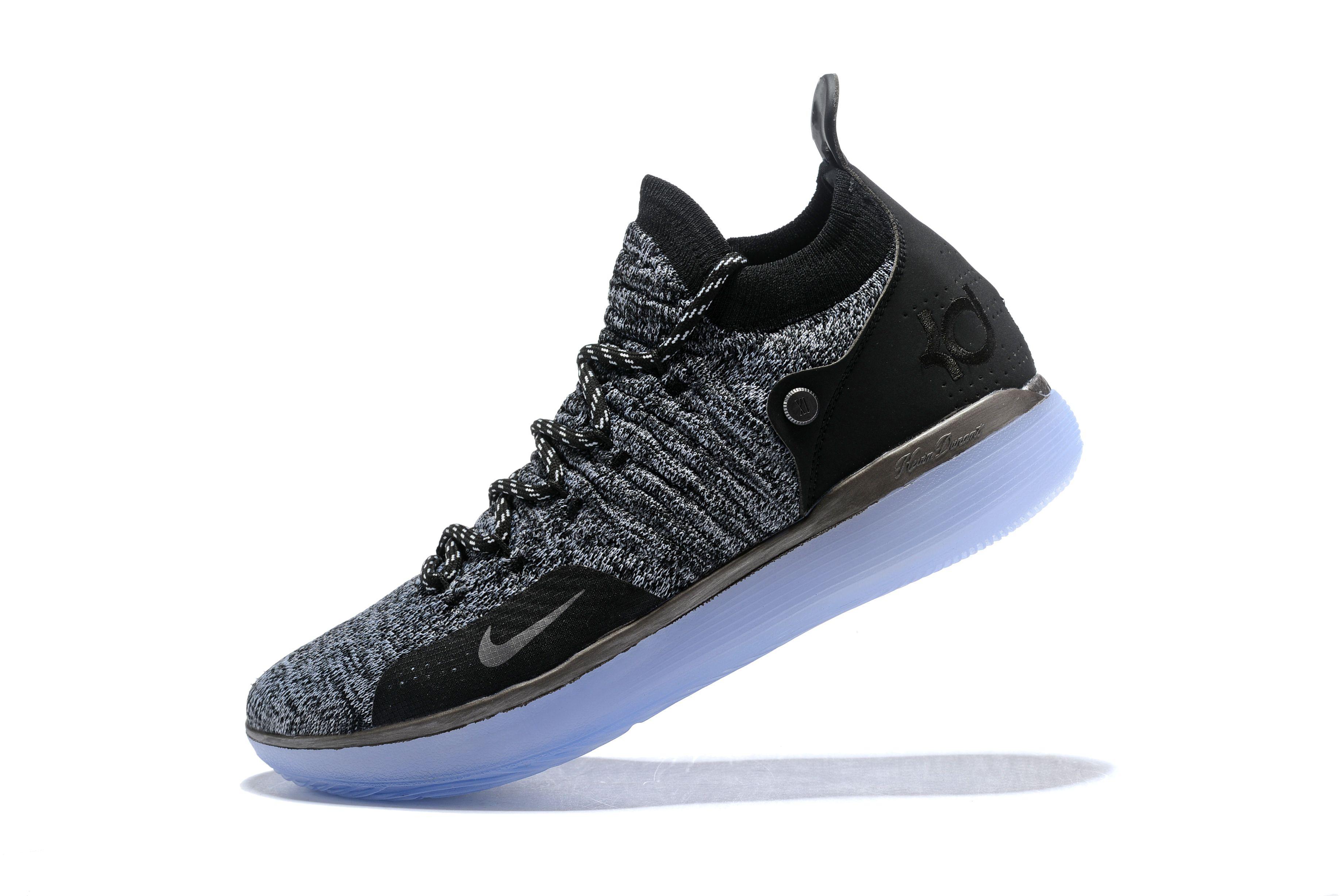 High Quality kevin durants nike kd 11 still kd black grey shoes Online Sale 15d4a9b60