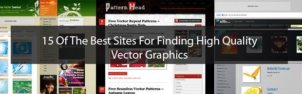 15 Best Sites For Finding Free High Quality Vector Graphics