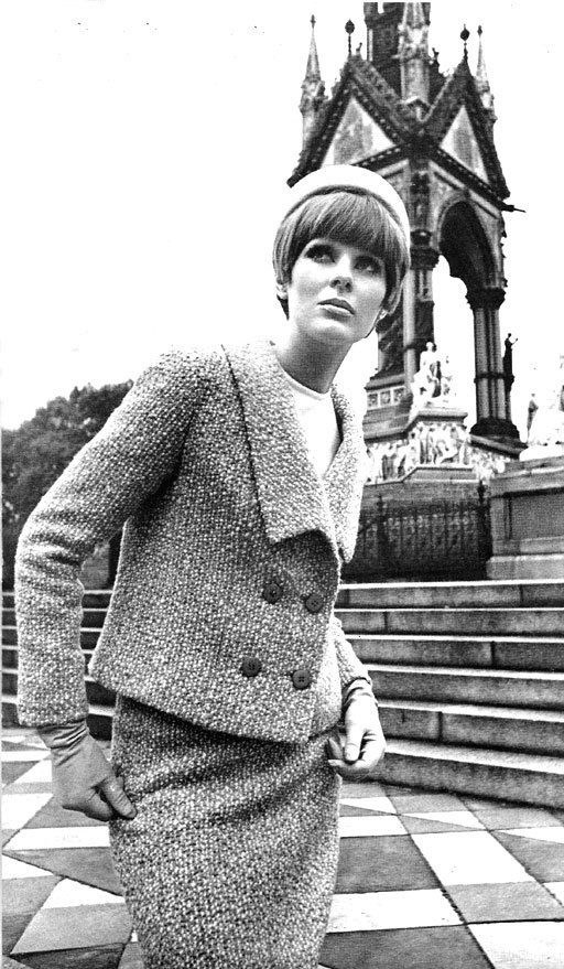 1965 Fashion Magazine   Irish Fashion Design at Harrods, London, August 1965   Brand New Retro