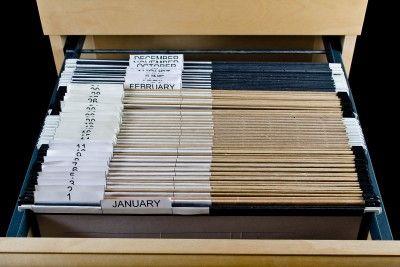 43 Folders Aka The Tickler Filing System