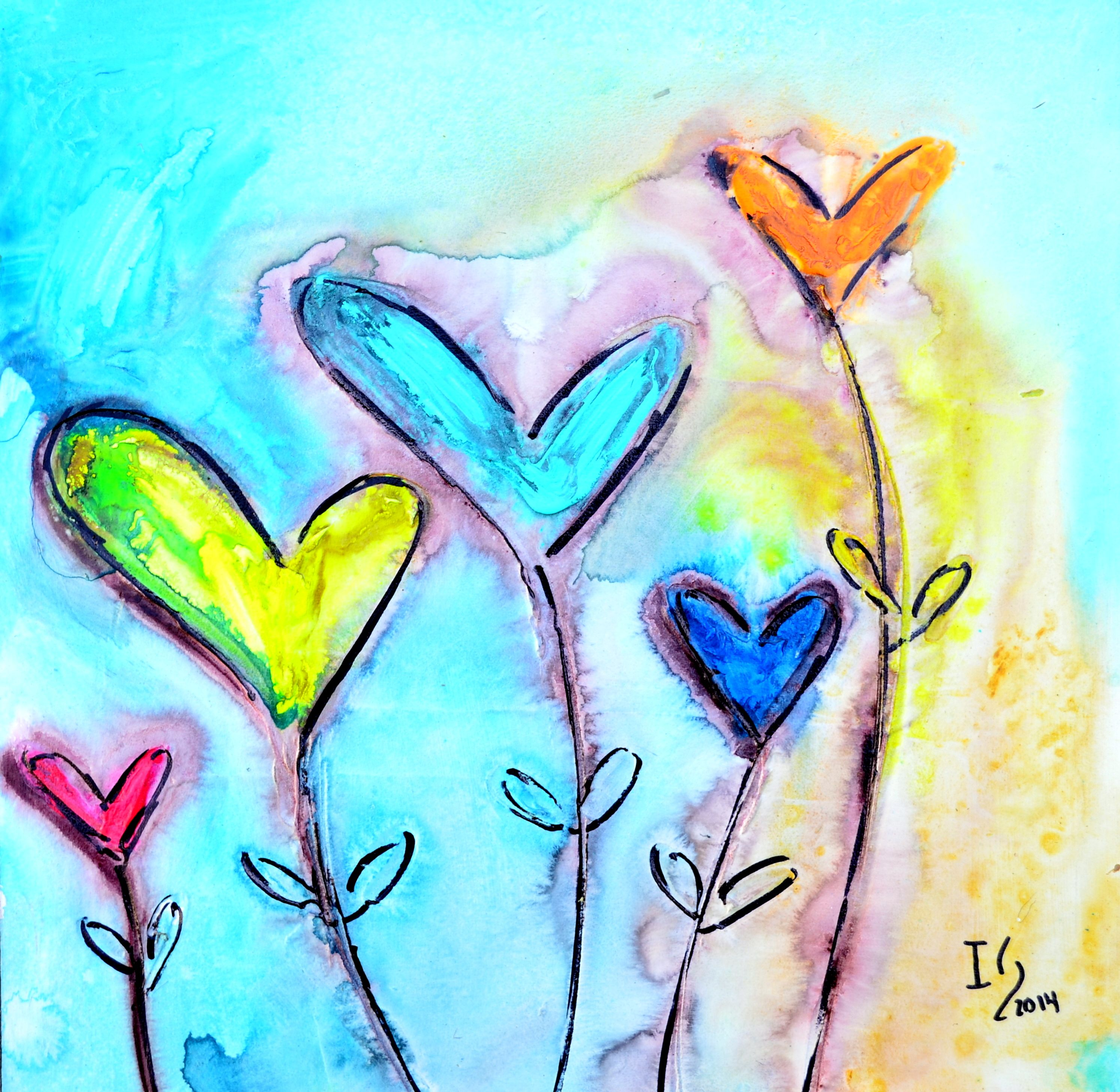HEART PAINTINGS AND HEART ART Visit our page at http://www ...