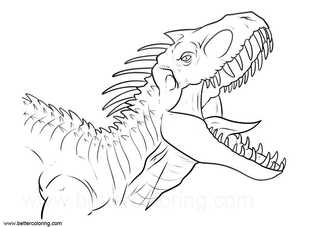 Related Image Ausmalen Jurassic World Ausmalbild
