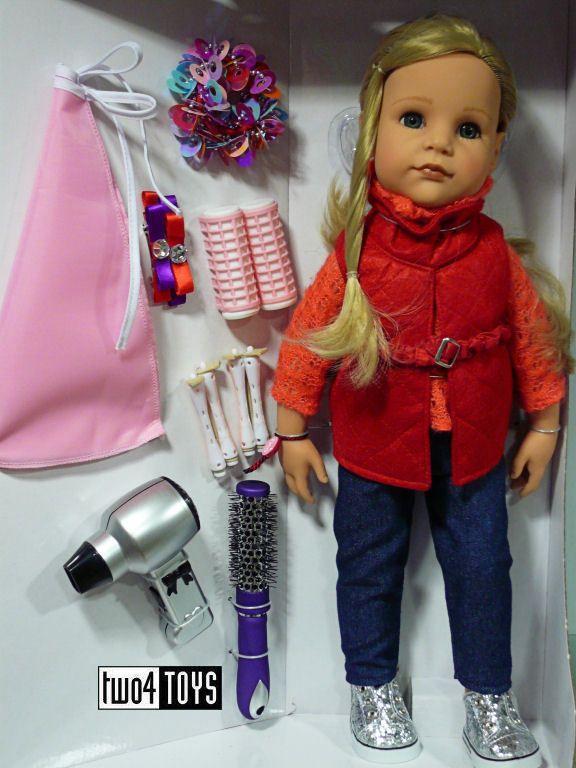 "NEW Gotz HANNAH LOVES HAIRSTYLING PLAY DOLL - 50 cm/19.8"" - NRFB #Gotz"