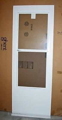 Merveilleux Doors 85892: Andersen Replacement Storm Door 30 X 80 Glass Panel Insect  Screen White D101