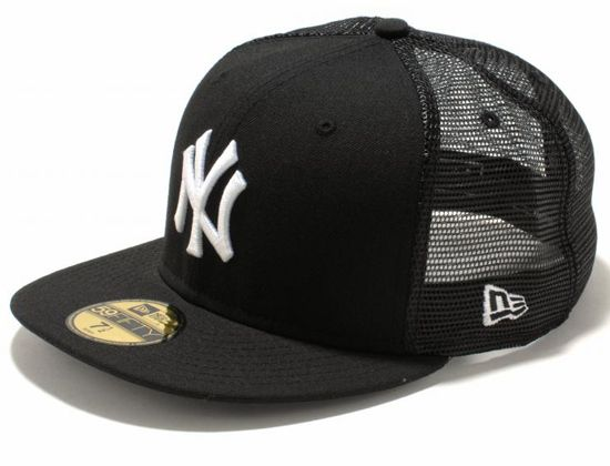 8ab69fde3a2 New York Yankees Trucker 59Fifty Fitted Cap by NEW ERA x MLB ...
