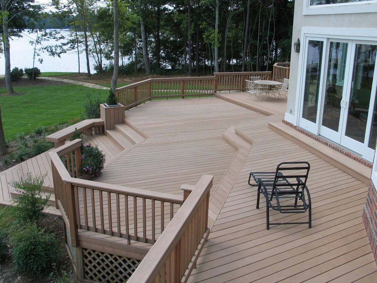 Multilevel Deck Design Ideas By Archadeck Multi Level Deck