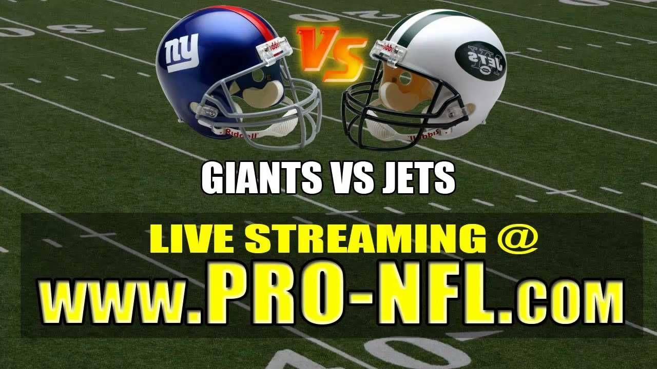 756bdc0da28 Watch New York Giants vs New York Jets Live Streaming NFL Football Game  Online