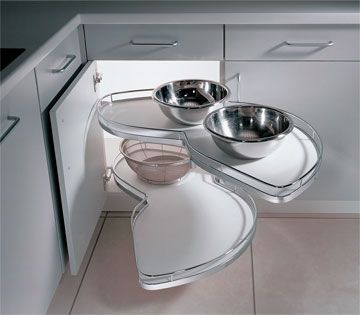 Best Haefele Lemans Corner Modern Kitchen Accessories 400 x 300