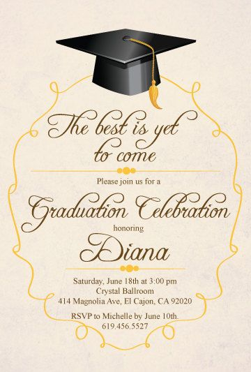 Personalized 5x7 Printed Two Sides with White Envelopes and paper choices Printed Graduation Invitations Grad Photo Announcement