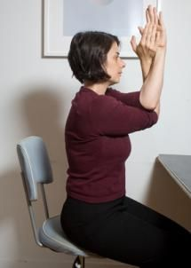 what types of yoga stretches can you do at your desk