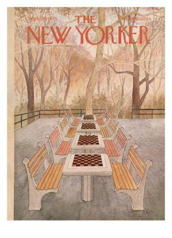 The New Yorker Cover - September 29, 1975 Giclee Print