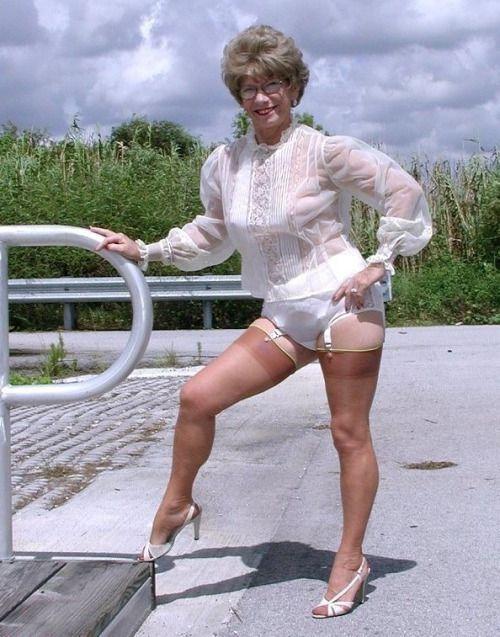 Tumblr granny underwear