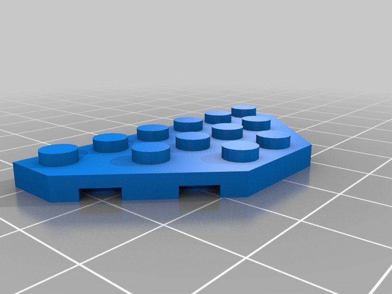 Print A Brick All Lego Parts And Sets By Hroncok Thingiverse In 2020 3d Printing Diy All Lego Lego Parts
