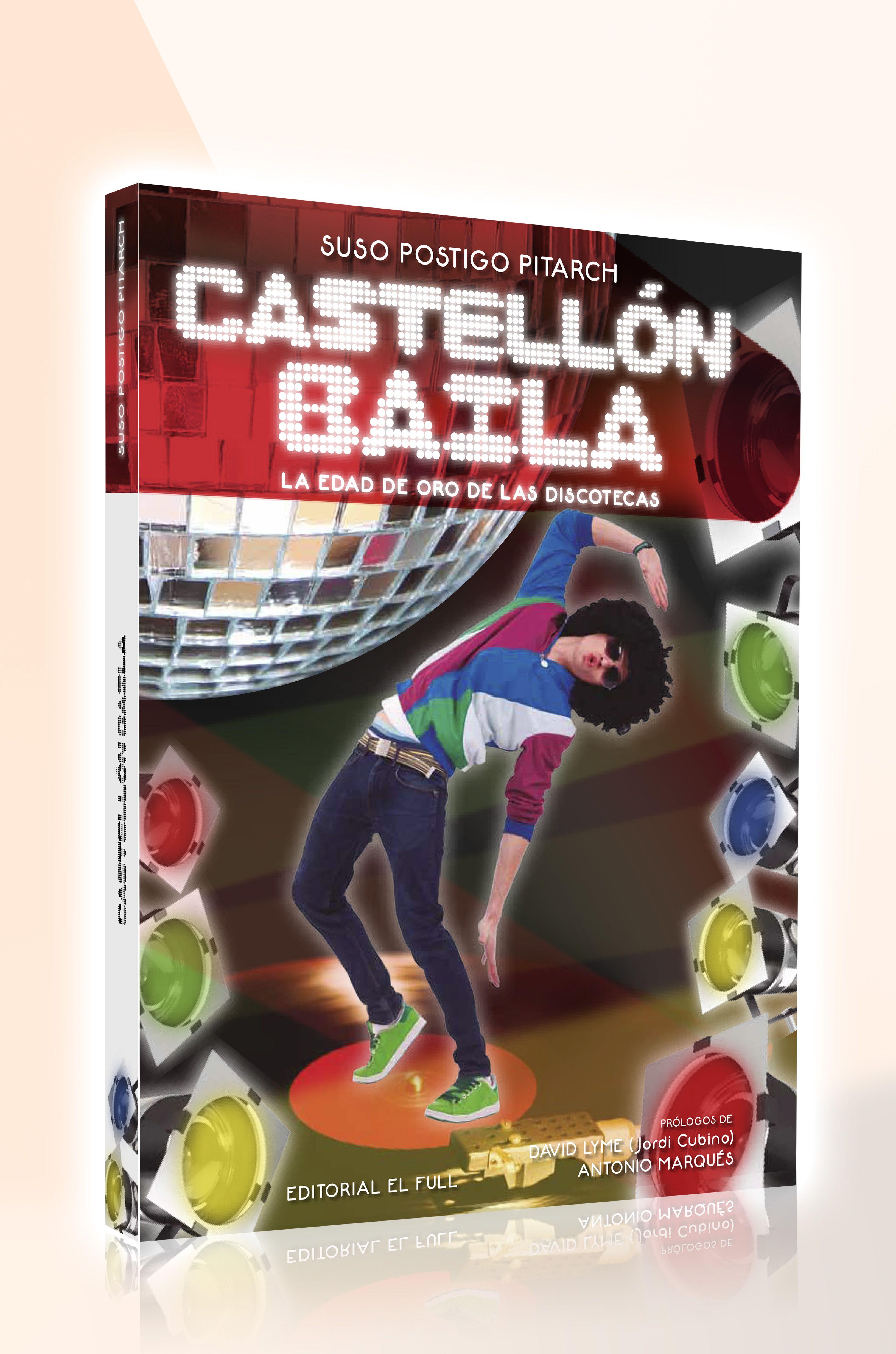 Portada realizada para el libro Castellon Baila de Suso Postigo.