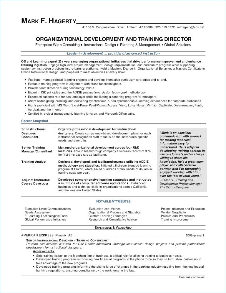 Hr Manager Resume Sample Training Manager Resume Hr Manager Resume Project Manager Resume Best Resume Template Resume Outline