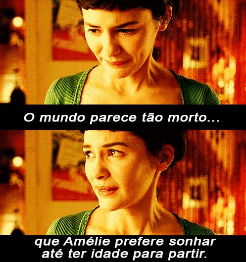 O Fabuloso Destino De Amélie Poulain Cinema Pinterest Frases