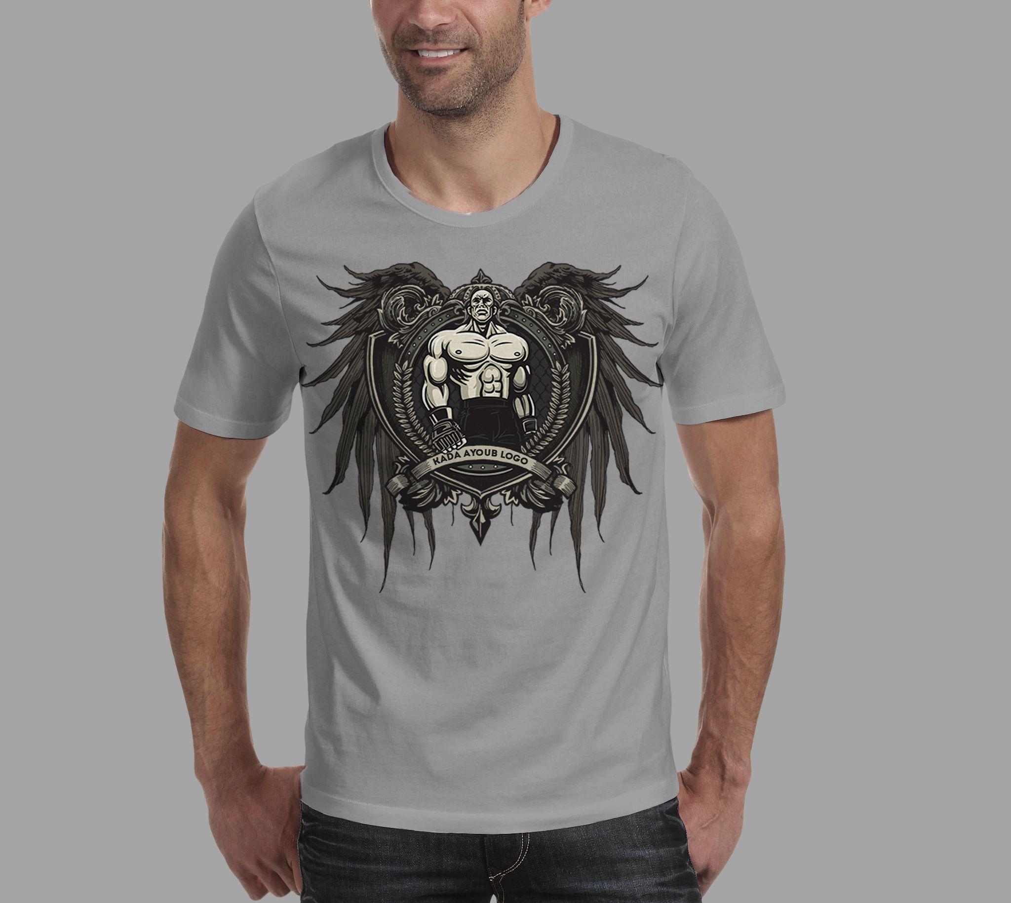 Black t shirt mockup psd free - Free Mockup T Shirt And Logo