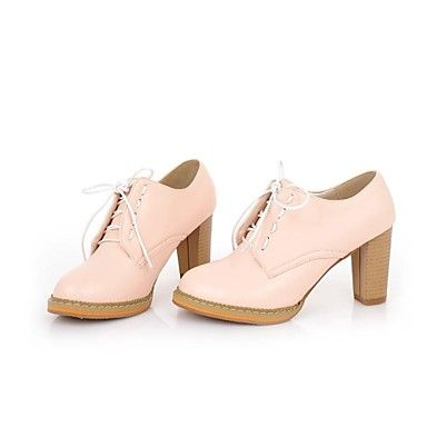 Women's Chunky Heel Round Toe Pumps/Heels Shoes (More Colors) - EUR € 16.49