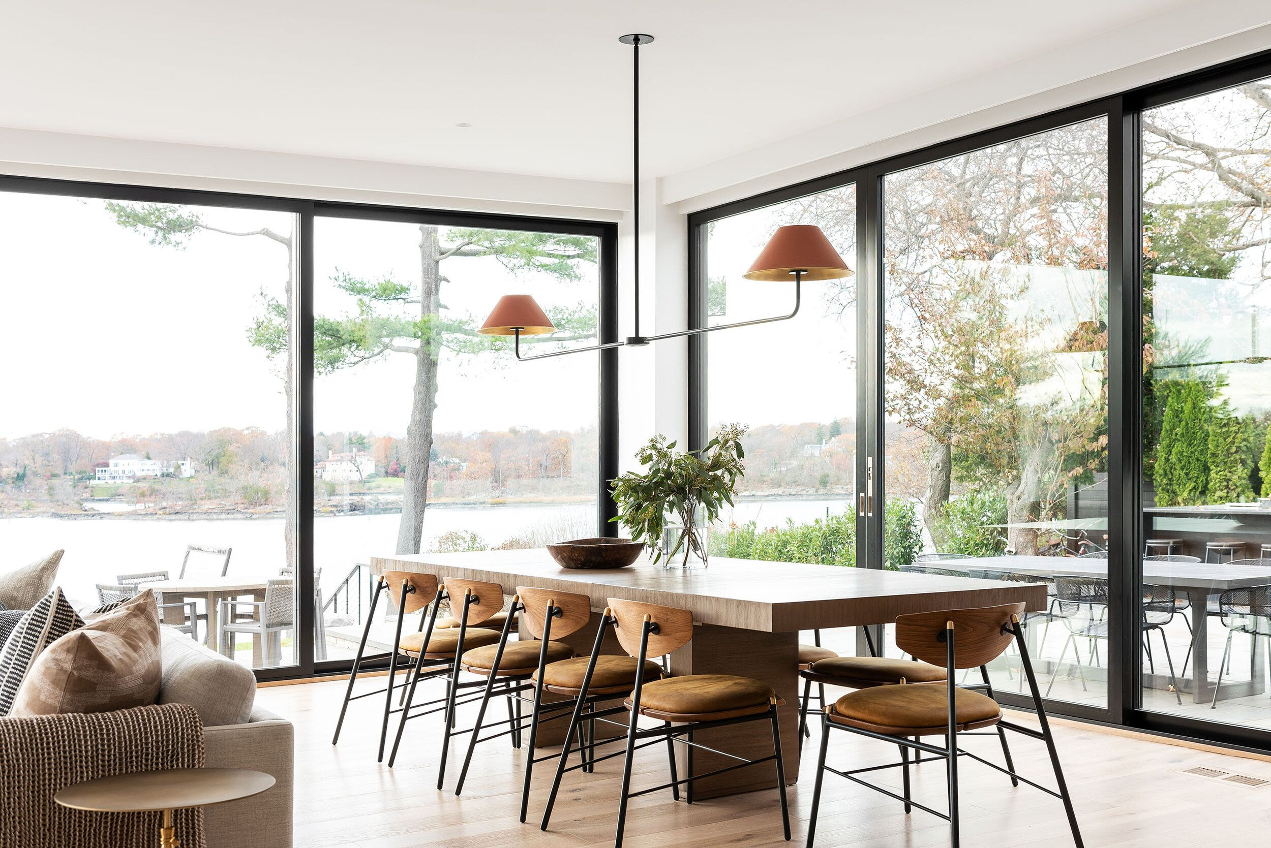 Cozy & Modern Dining & Great Room in 2020 | Dining room ...