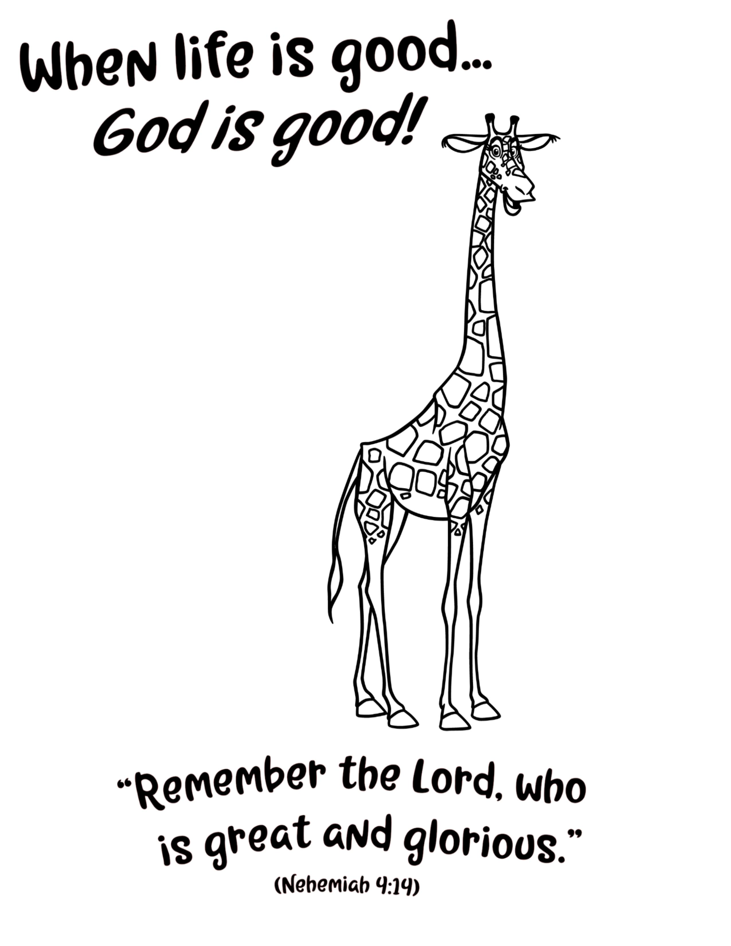 Savanna Day 5 Roar Vbs Coloring Page Vbs Vacation Bible School