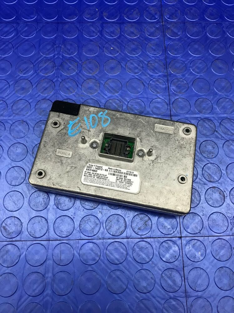 Oe Ford Part Sync Communication Voice Recognition Control Module Dm5t 14f239 Al Ford With Images Ford Parts Ebay Motors Car Parts